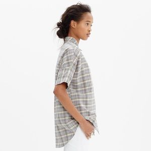 Madewell Courier Shirt in Serene Plaid